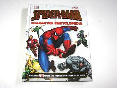 Spider-Man Character Encyclopedia Hardcover Book