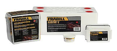 Frabill Habitat Deluxe Worm Storage Kit Fishing Tool Accessory Hunting SALE NEW