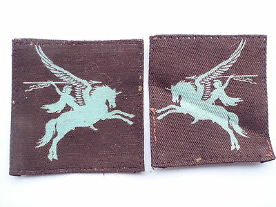 WW2 Printed Airborne Forces Pegasus Formation Signs