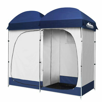 Camping Shower Toilet Tent Outdoor Portable Change Room Shelter Ensuite Duo