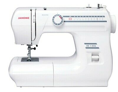 Janome RE1306 Mechanical Sewing Machine, NEW, Limited Time, BRAND NEW BONUSES!