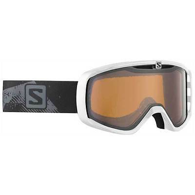 Salomon Aksium White Low Light Snow Goggles Ski Snowboarding Unisex Glasses