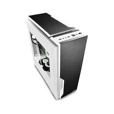 DeepCool Black & White Dukase V2 Mid Tower Chassis (USB3) DP-ATX-DUKWH2BL