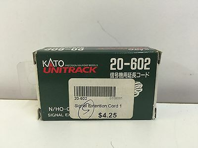 KATO UNITRACK, Signal Extension Cord, N/HO-Gauge, 20-602