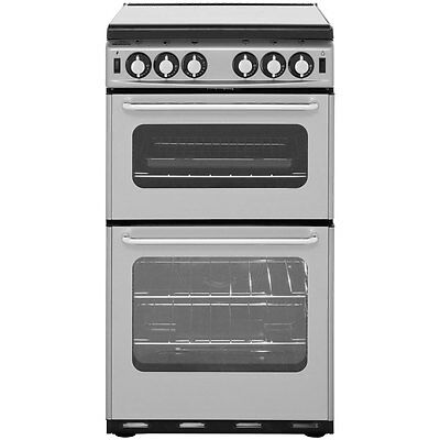 Newworld 500TSIDL Newhome Free Standing Gas Cooker with Gas Hob 50cm Silver New