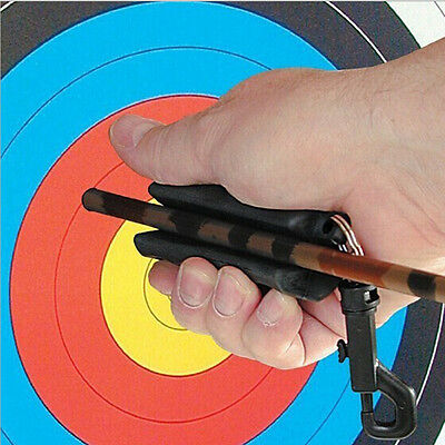 Archery Arrow Puller Target Hunting Protection Silicon Keychain Outdoor
