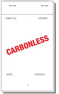 Bar Order Pads Duplicate Carbonless EF30NCR Restaurant Bar x 5/10/25/50/100