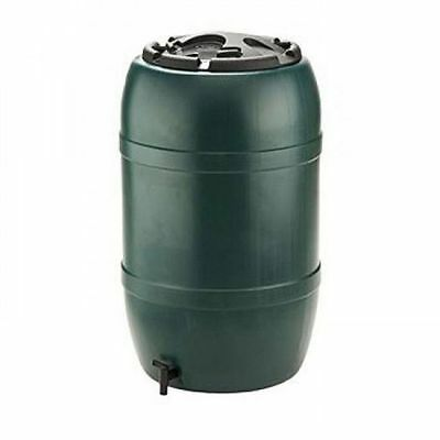 Ward Green Plastic Water Butt with Lockable Lid and Tap - 210 Litre GN325