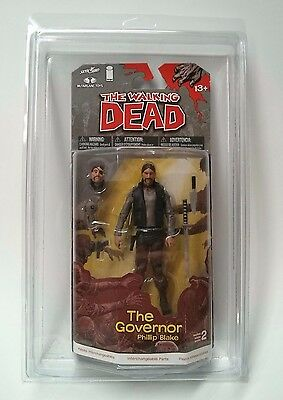 10 Pack Empty Protective Case McFarlane Walking Dead Comic Book Action Figure