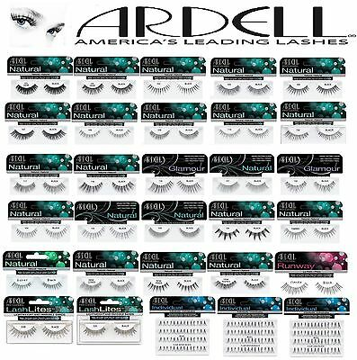 Ardell 100% Human Hair False Eyelashes Fashion/Glamour/Accent/Natural Eye Lashes