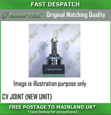 Cv452An 2663 Outer Cv Joint (New Unit) For Vauxhall Vectra 2.8 04/08-12/09