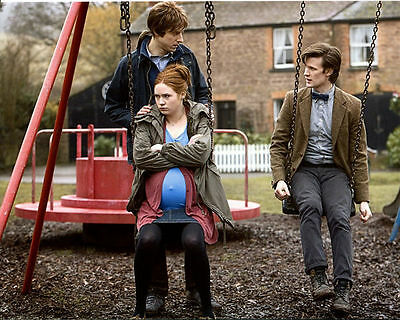 Matt Smith & Arthur Darvill Unsigned Photo - 5461 - Doctor Who