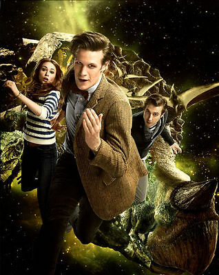 Matt Smith & Arthur Darvill Unsigned Photo - 5462 - Doctor Who