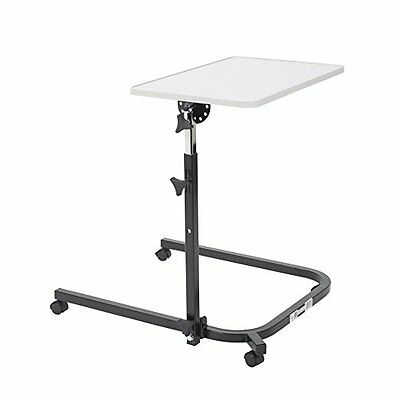 Drive Medical Pivot & Tilt Adjustable Overbed Table Tray 13000 Overbed Table NEW