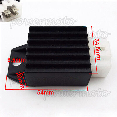 4 Pin Voltage Regulator Rectifier For 50 70 90 110 125 cc Pit Dirt Monkey Bike