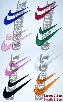 #1102 NIKE Embroidered Iron on Sew on Patch Badge Logo Sports