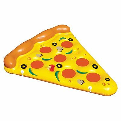 Giant Inflatable Pizza Slice Shaped Pool Float Fun Party Toy
