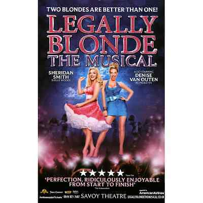 Legually Blonde The Musical Sheridan Smith Repro Folio Poster