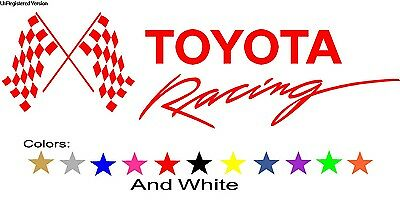 TRD TOYOTA Racing Decal Sticker Tundra Camry Tacoma 4x4 Street Car Parts Motor