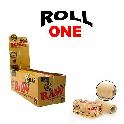 Raw Classic Rolls 3 Meters - King Size 3M Roll Per Pack 54Mm Wide