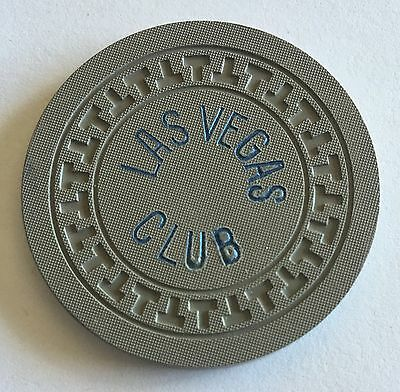 $100 Las Vegas Club R9 1st Issue 1947 Early Downtown Nevada T Mold Chip