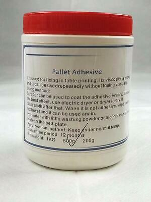 1000g/bottle Pallet Adhesive for Screen Printing DIY Screen Printing Consumable