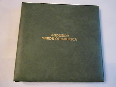 "1979 Audubon ""birds Of America"" Stamp Album - 15 Sheets - Mint - Rh-4"