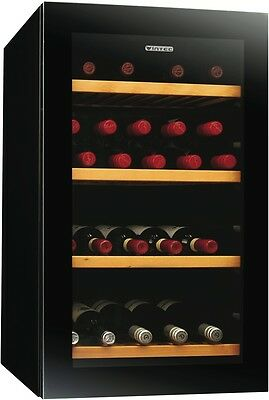 NEW Vintec 35 Bottle Wine Cooler 35 Bottle NA V30SGMEBK