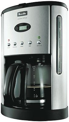 NEW Breville 12 Cup Drip Filter Coffee Machine 12 Cup BCM600