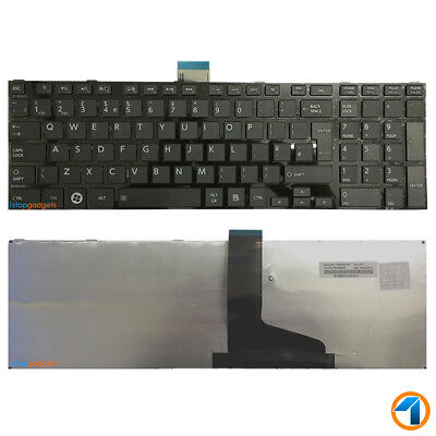 New Toshiba Satellite P850-138 Replacement Laptop Keyboard Black Uk With Frame