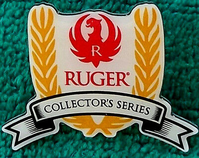 Rare New Unused Ruger Guns Enameled Collector's Series Hat Lapel Shirt Pin