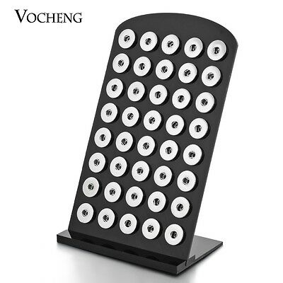 Vocheng 5.3''*8.7'' 2 Colors Acrylic Snap Stands Display for 18mm Button Vn-457