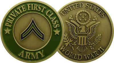 PRIVATE FIRST CLASS (Monnaie Commemorative)