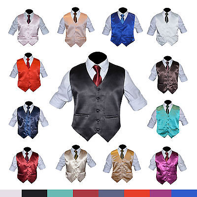 "Mens formal Groom party Wedding Waistcoat 15 colours Size 36-48"" Chest available"