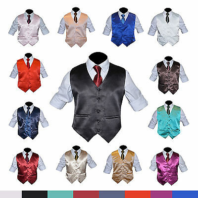Mens formal party Wedding Waistcoat 15 colors Size 34-48 Christmas gift present