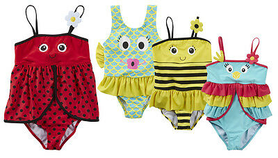 NEW Babytown Minikidz Baby Girls Holiday NOVELTY Swimwear Swimming Beach Costume
