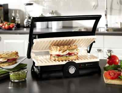 Panini Maker Sandwich Electric Grill Gourmet Non-Stick Griddle Kitchen Toaster