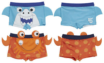 Babytown Minikidz Infant Boys Baby Novelty Swimwear Swimming Trunks Swim Shorts