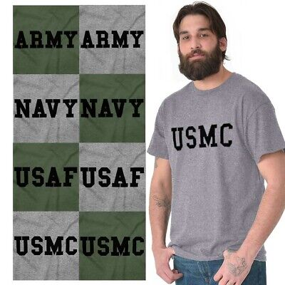 US Army Navy Air Force USAF Marines Physical Training PT T T-Shirt Tee