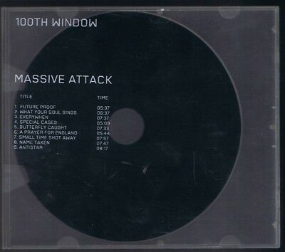 Massive Attack - 100th Window [Clear see thru case] NEW