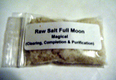 Raw Salt Full Moon Ultimant Clearing & Purification