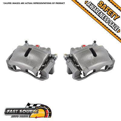 Front OE Brake Calipers Pair Kit 2005 2006 2007 2008 FORD F150 LINCOLN MARK LT