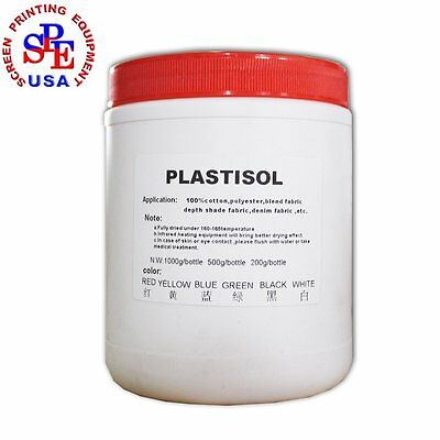 Screen Printing Ink Screen Printing Accessory for T-shirt 500g White
