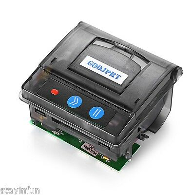 New Mini Catering retail Embedded Receipt Thermal Printer POS Black