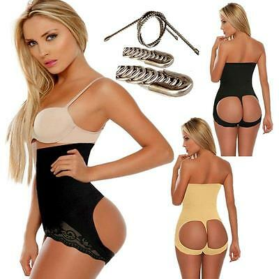Sexy Po PUSH UP Slip Panty Unterhose Mieder Body-Former Hotpants Contur Polster