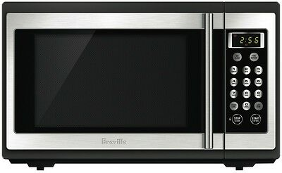 NEW Breville 34L 1100W Stainless Steel Microwave 1100W 34 Litres BMO300