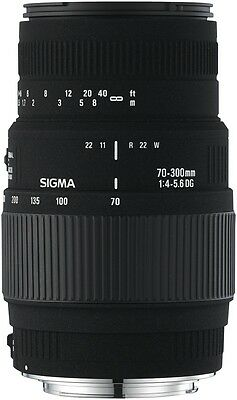 NEW Sigma 4509927 AF 70-300/4-5.6 DG Macro Lens for Canon