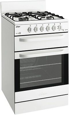 NEW Chef CFG503WALP 54cm LPG Gas Upright Cooker