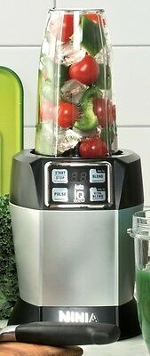 NEW Ninja BL480NZ Nutri Ninja Blender with Auto-IQ