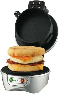 NEW Kambrook KSM210GRY Stack & Snack Sandwich Maker